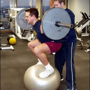 stability-ball-squat
